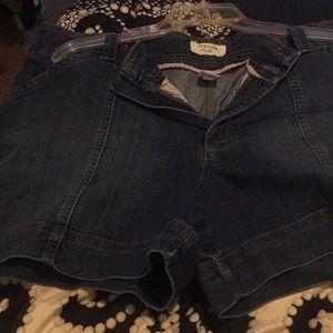 Blue Jean Shorts 16w (Sonoma)